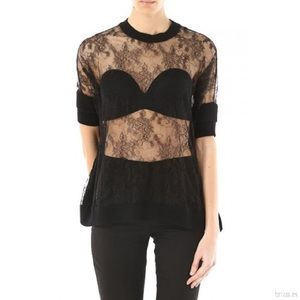 Valentino women's lace top